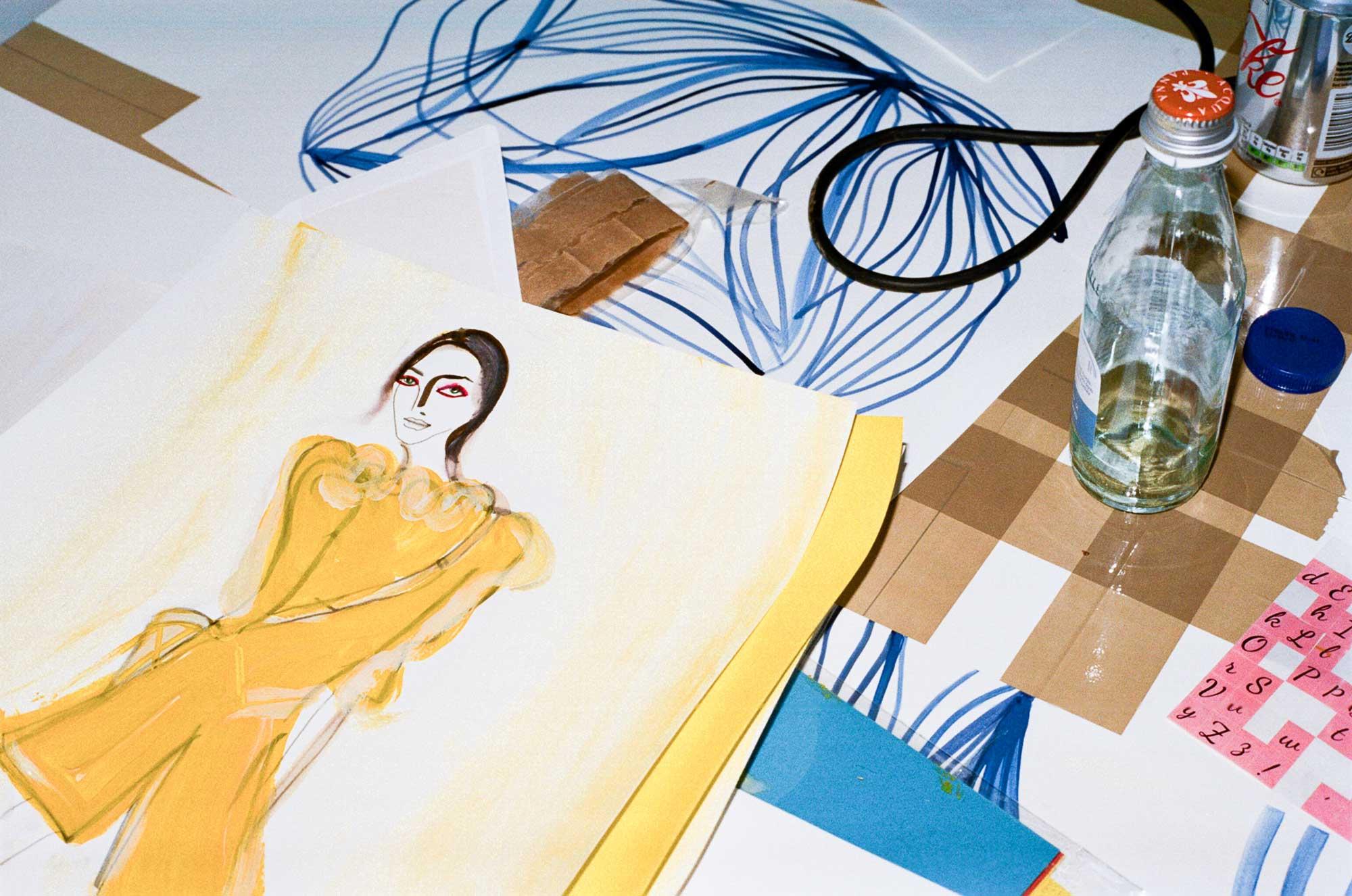 Illustration Drawing Fashion Art