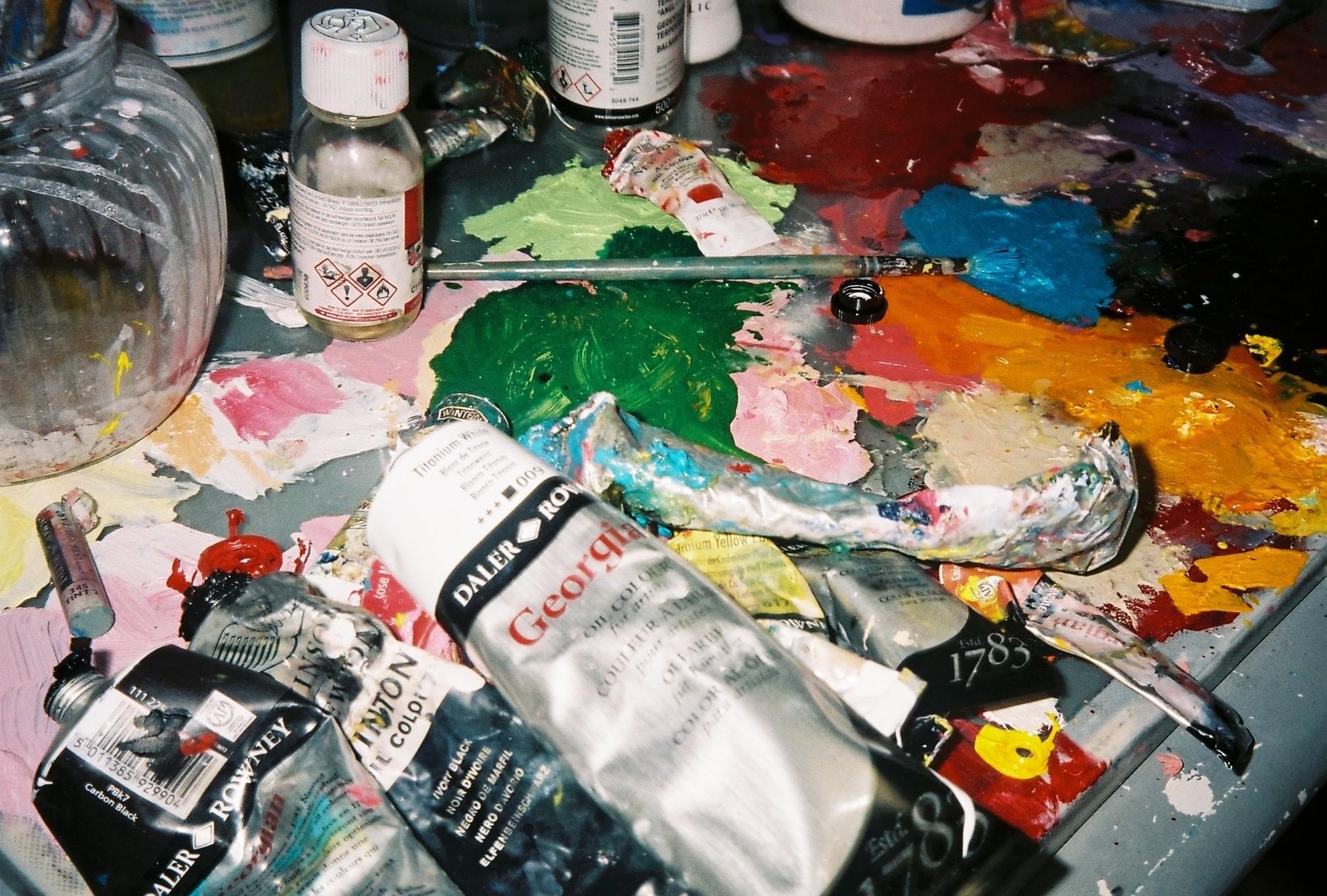 Studio Visit with artist Ellie Walker — DATEAGLE ART