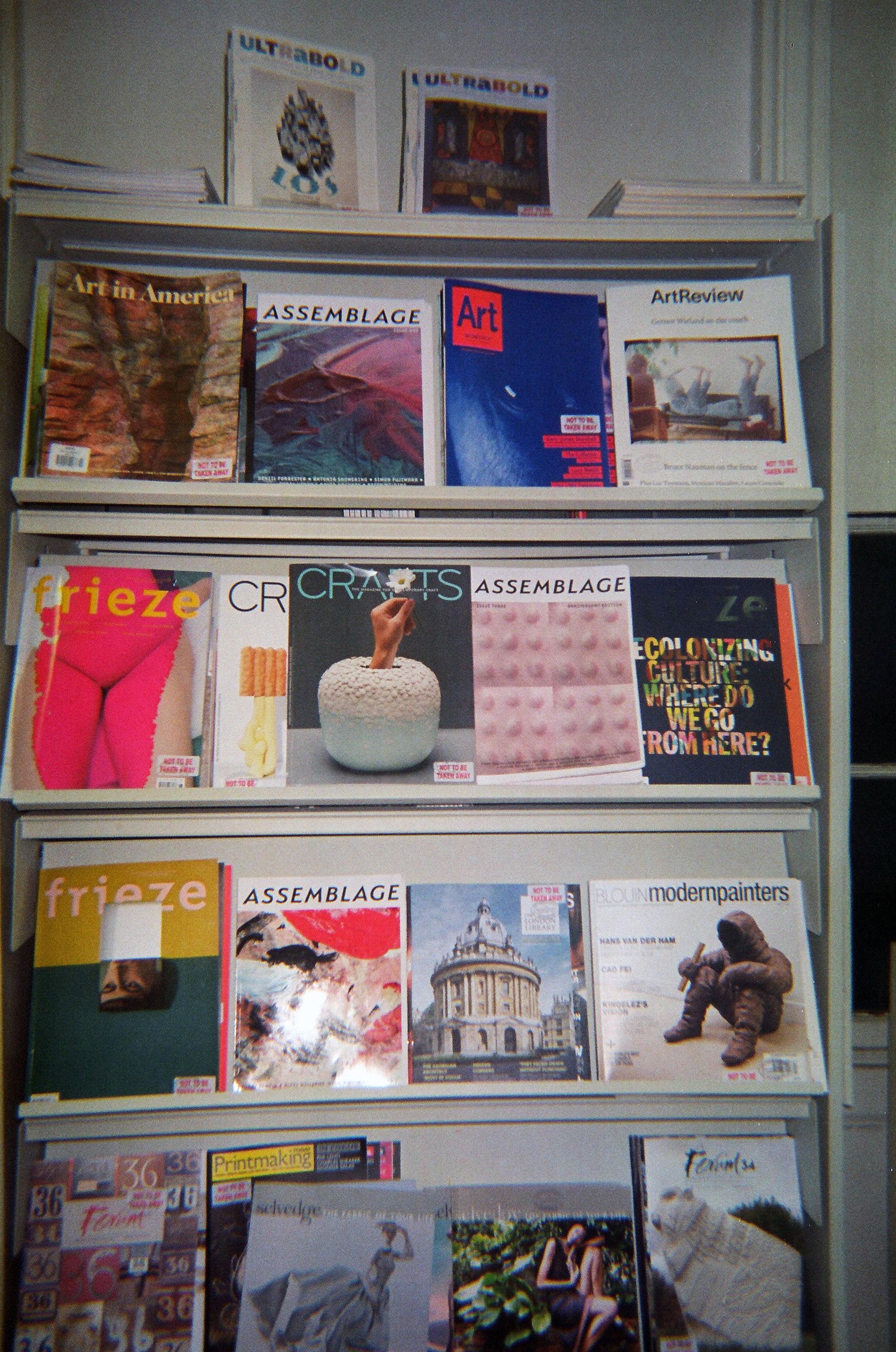 Journal: Assemblage Magazine — DATEAGLE ART